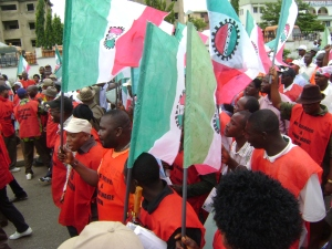 Nigerian workers moving against deregulation...will the tide be  sustained by the unions?