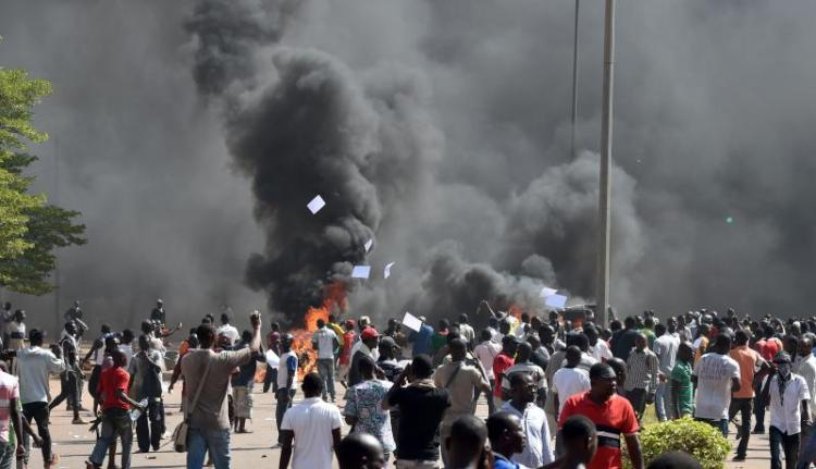 Burkinabe Revolution; the fires of the people's anger, continues to burn!