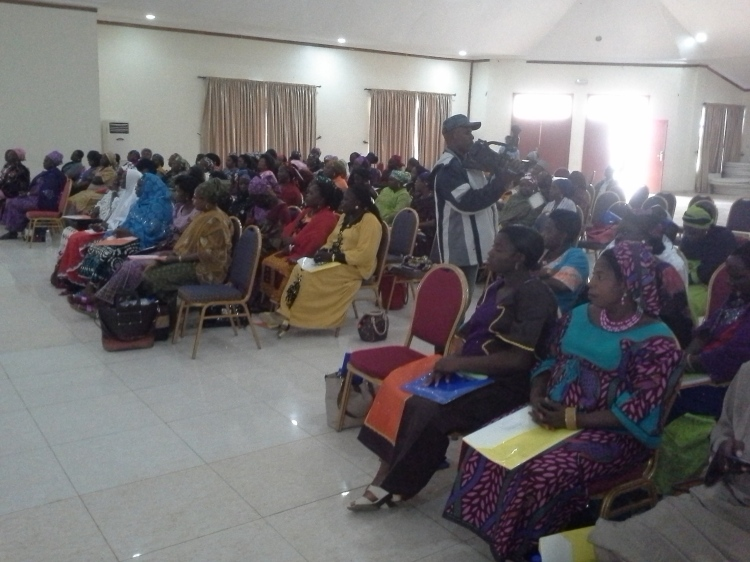 a cross-section of participants at the workshop in Lokoja